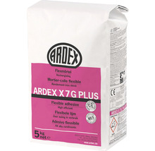 Flexmörtel ARDEX X 7 G PLUS, 5 kg
