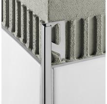 Abschlussprofil Schlüter-Quadec-E, 10mm Länge 250 cm Edelstahl
