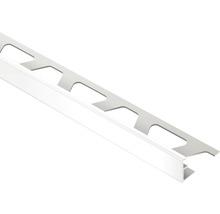Abschlussprofil Schlüter-Jolly-P, 11mm Länge 250 cm PVC brillantweiß, RAL 9003