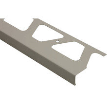Randprofil Schlüter-BARA-RKL, 2500x75mm, Alu grau metallic RAL 9006