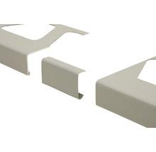 Verbinder Schlüter-BARA-RW, alu pastellgrau, sanitär manhattan, 55 mm,
