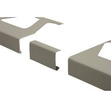 Verbinder Schlüter-BARA-RKL, Alu grau metallic RAL 9006, 75 mm,