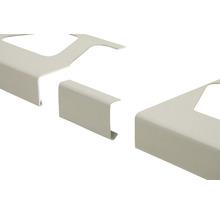 Verbinder Schlüter-BARA-RW, Alu pastellgrau, sanitär manhattan, 95 mm,