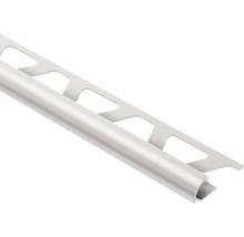 Abschlussprofil Schlüter-Rondec-AE, 10mm Länge 250 cm Alu natru matt eloxiert