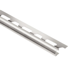 Abschlussprofil Schlüter-Rondec-EB, 11mm Länge 250 cm Edelstahl gebürstet