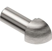 Aussenecke 90° Schlüter-RONDEC-EB/ED, 10mm, Imitat Metall-Druckguss gebürstet, 1 Stück