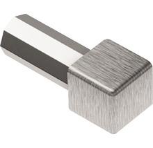 Aussen- und Innenecke 90° Schlüter-QUADEC-EB/ED, 10mm, Imitat Metall-Druckguss gebürstet, 1 Stück