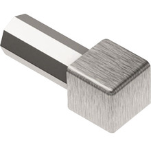 Aussen- und Innenecke 90° Schlüter-QUADEC-EB/ED, 11mm, Imitat Metall-Druckguss gebürstet, 1 Stück