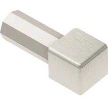 Aussenecke 90° Schlüter-QUADEC-A/ED, 11mm, Alu-Imitat titan gebürstet eloxiert, 1 Stück