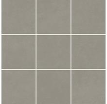 Mosaik Meissen Optimum grau matt 30x30cm Steingröße 10x10cm
