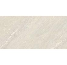 Feinsteinzeug Wand- und Bodenfliese Aspen bianco 30x60 cm
