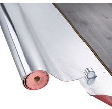 Dauerelastische Unterlagsbahn Accoustic Easy+ 8,5x1 m, 1,8 mm stark, zur schwimmenden Verlegung von Laminat und Parkett