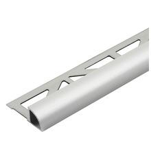 Viertelkreis-Abschlussprofil Dural silber 6 mm