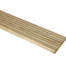 Terrassendiele sibirische Lärche roh 26,5X140X3000 mm