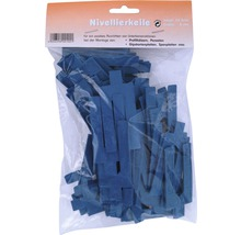 Nivelierkeile blau 2 mm Beutel 50 Stück