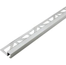 Dekoprofil Dural Squareline DPSA 1163-SF Titan 11 mm Länge 250 cm Höhe 11 mm