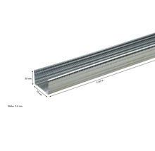 CW-dB Ständerprofil KNAUF 75x50mm Länge:2,60m