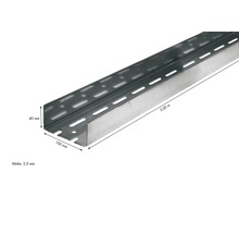 Knauf UA-Aussteifungsprofil 100 x 40 mm Länge: 3,00 m