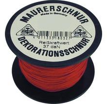 Maurerschnur rot Ø 2,0 mm, 200 m