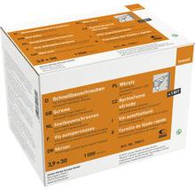 Fermacell Schnellbauschrauben für Gipsfaserplatten 3,9 x 30 mm Pack = 1000 Stück