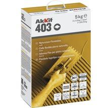 Akkit 403 Naturstein Flexkleber weiss 5 kg