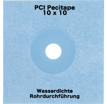 PCI Pecitape Spezial Dichtbandsystem für wasserdichte Eck-und Anschlussfugen 10 x 10 cm