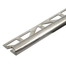 Viertelkreis-Abschlussprofil Durondell DRE 630 Länge 250 cm Höhe 6 mm edelstahl