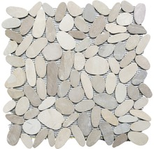 Flusskiesel XKS IN10 beige 30,5x30,5 cm