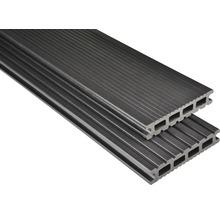 Konsta WPC Terrassendiele Futura graubraun mattiert 26x145x5000 mm