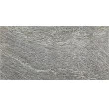 Feinsteinzeug Wand- und Bodenfliese Silverstone grigio scuro 30 x 60 cm R12
