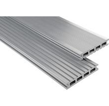 Konsta WPC Terrassendiele Primera grau glatt 26x145x5000 mm