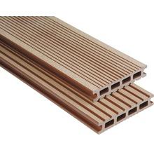 Konsta WPC Terrassendiele Futura braun gebürstet 26x145x5000 mm