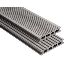 Konsta WPC Terrassendiele Futura graubraun gebürstet 26x145x6000 mm