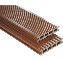 Konsta WPC Terrassendiele Futura braun glatt 26x145x3500 mm