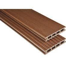 Konsta WPC Terrassendiele Futura braun mattiert 26x145x3500 mm