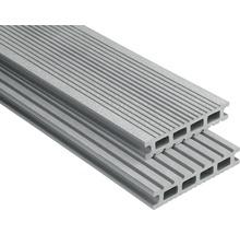 Konsta WPC Terrassendiele Futura grau gebürstet 26x145x5500 mm