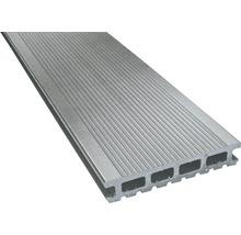 Konsta WPC Terrassendiele Primera grau glatt 26x145x3000 mm